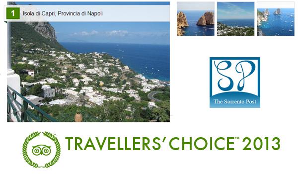 Il Golfo di Napoli brilla ai Travellers' Choice di Tripadvisor