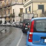 Traffico bloccato a Sorrento