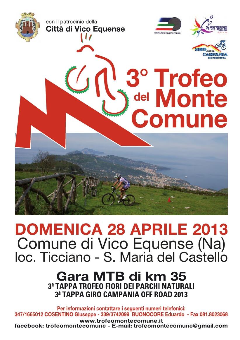Trofeo Monte Comune – Locandina