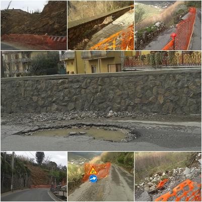 Dissesto idrogeologico in Penisola Sorrentina