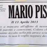 Manifesto Mario Pisani