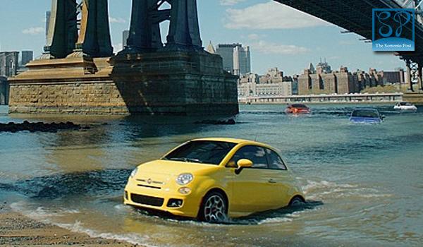 Sorrento sbarca in America con lo spot di Fiat 500