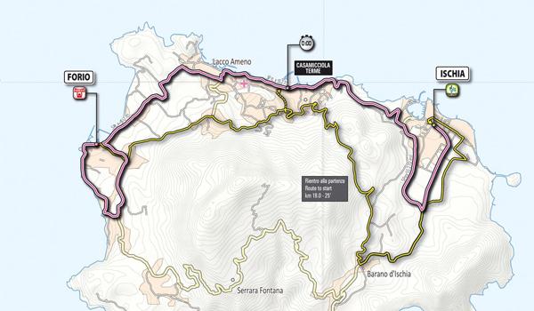 Giro d'Italia - Tappa di Ischia