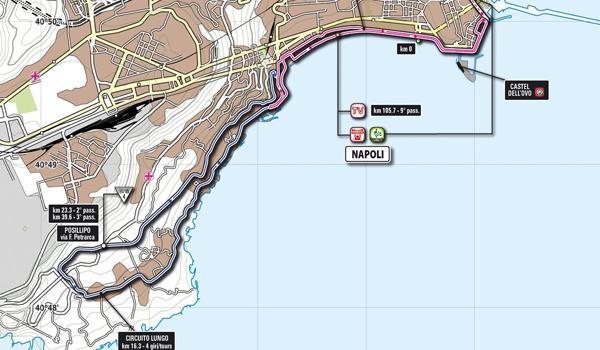 Giro d'Italia - Tappa di Napoli