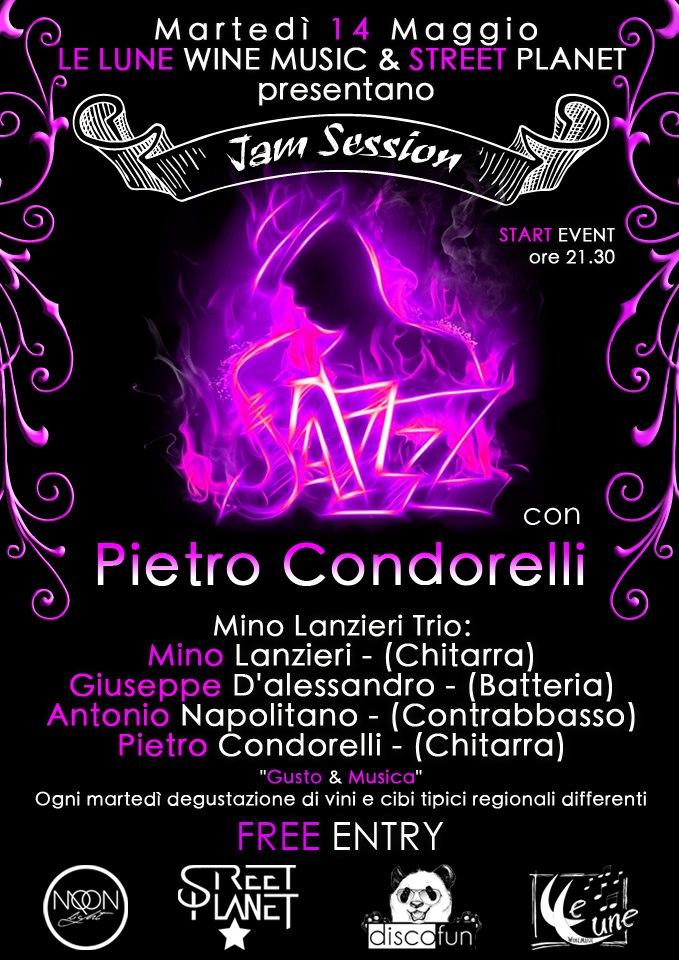 Pietro Condorelli a Le Lune WineMusic di Pompei