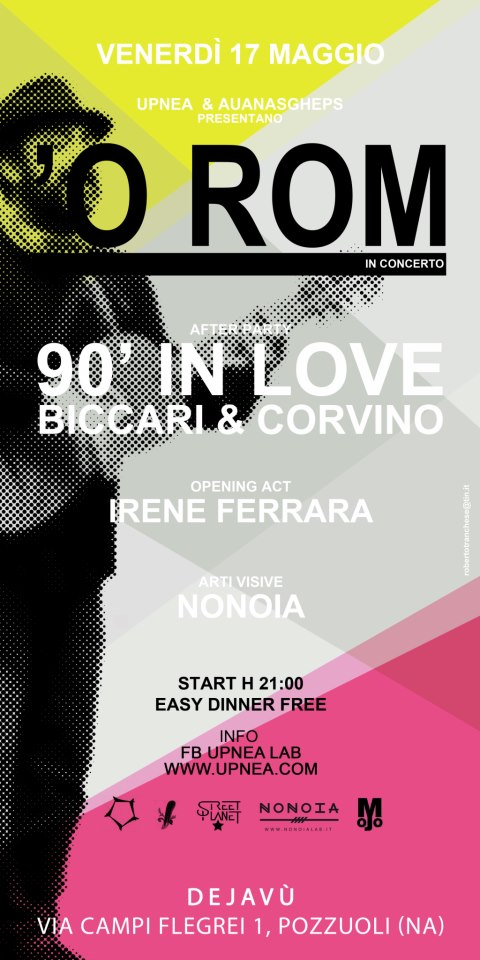 Gli 'O Rom in concerto a Napoli