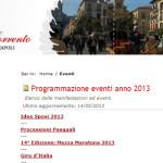 Programmazione turistica a Sorrento