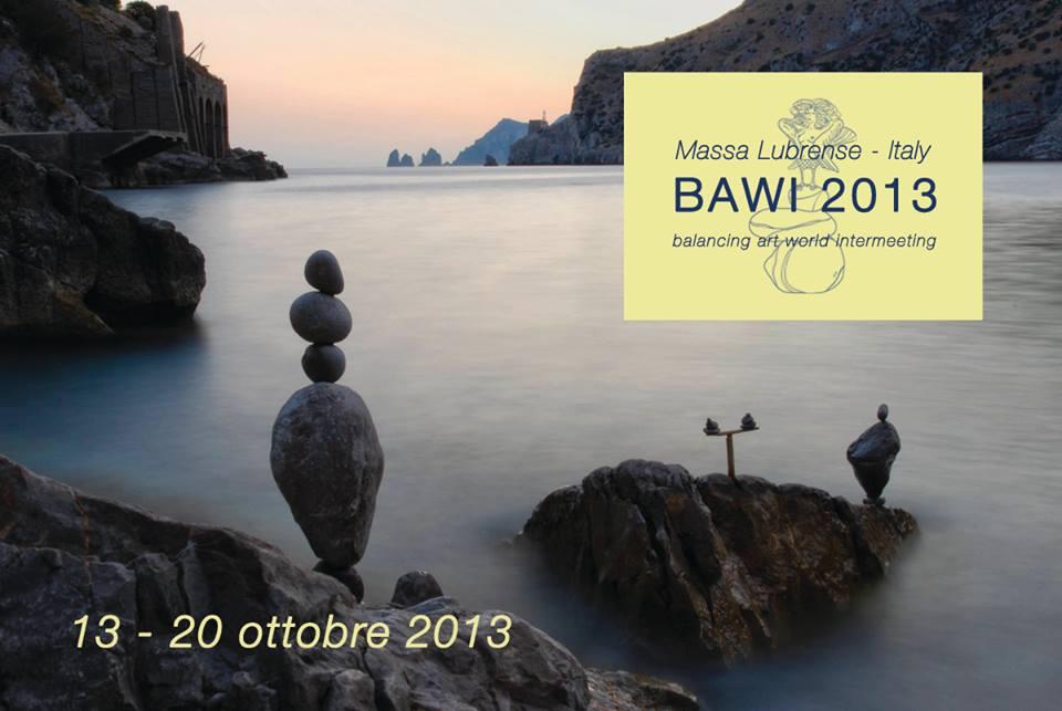 Bawi 2013, lo stone balancing a Massa Lubrense