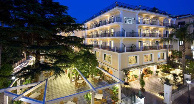 Il Grand Hotel La Favorita conquista la quinta stella
