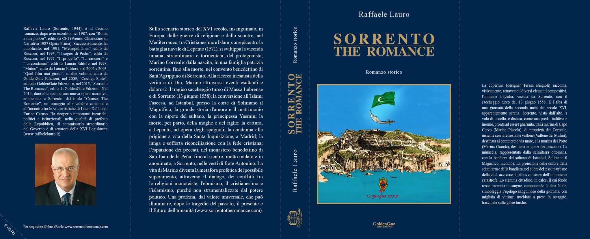 """Il romanzo di Raffaele Lauro """"Sorrento the Romance"""" letto e discusso in Penisola."""