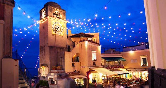 Capri, Natale in piazzetta: ricco carnet di eventi per il Natale-Capodanno 2013