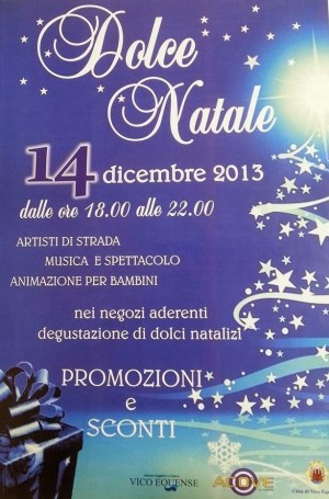 dolce natale a vico