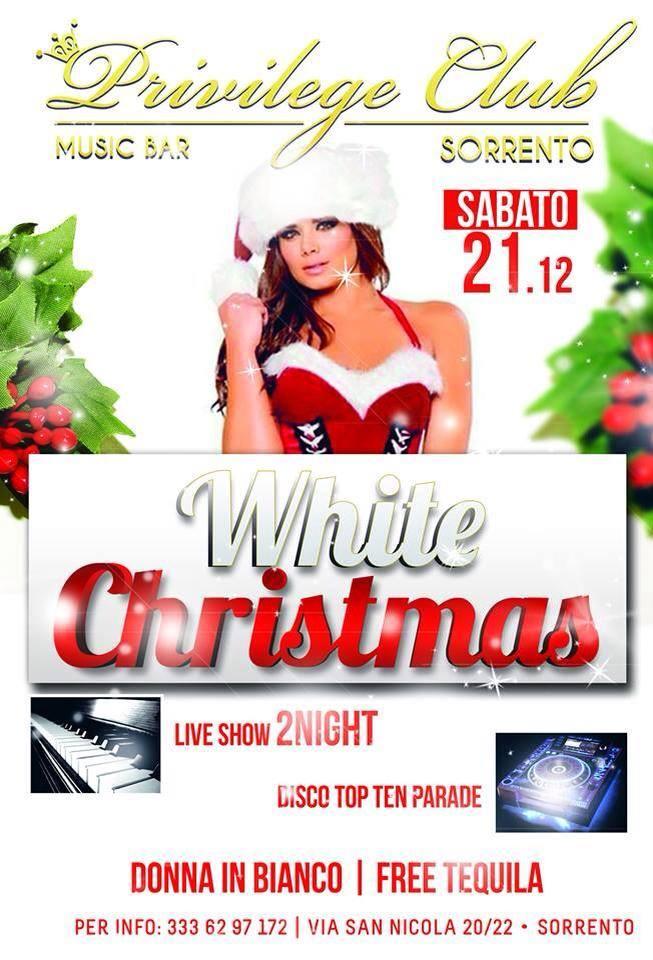 White Christmas al Privilege Club