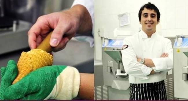 """…metti un """"sorrentino"""" a Dubai per realizzare il miglior gelato del mondo…"""