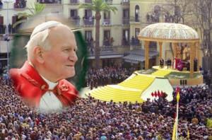 Il discorso di Giovanni Paolo II fu bellissimo, ci incoraggiò a proteggere questo luogo che Dio ci aveva donato nella sua generosità.