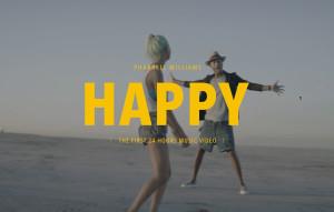 Pharrell happy from Sorrento