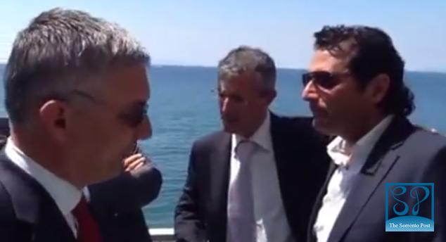 Francesco Schettino testimonial per la candidatura di Giuseppe Tito