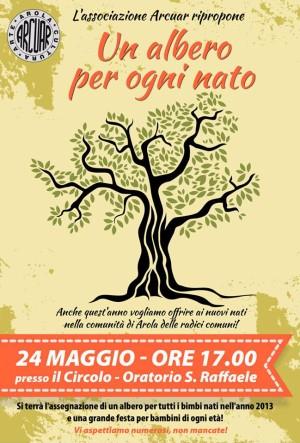 Un albero per ogni nato - Arola 2014