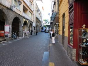 Via Luigi De Maio a Sorrento