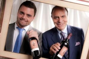 Bruno e Federico Vespa
