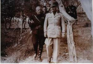 Achille Lauro e Benito Mussolini