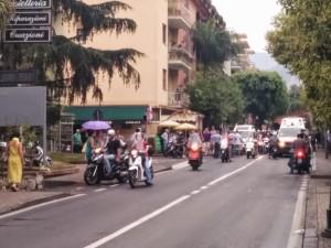 Incidente a Sorrento in località Sottomonte