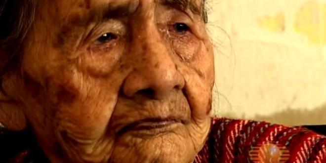 """Leandra Becerra Lumbreras: """"la donna più vecchia del mondo"""""""