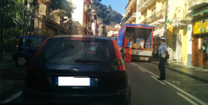 Traffico a Sorrento