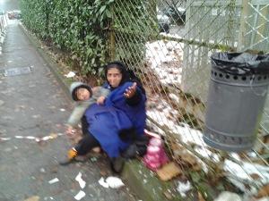 L'utilizzo dei bambini Rom nel chiedere l'elemosina