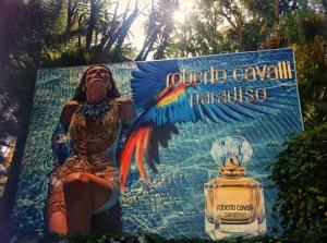 Paradiso: il nuovo profumo di Roberto Cavalli presentato a Sorrento