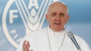 Papa Francesco interviene alla Seconda Conferenza Internazionale sulla Nutrizione