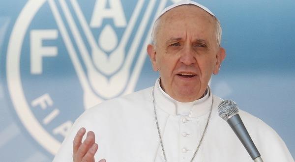 Papa Francesco alla seconda conferenza internazionale sulla nutrizione