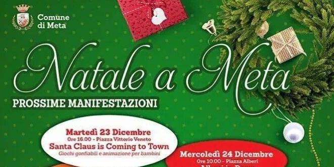 """""""Natale a Meta"""": il calendario delle manifestazioni"""