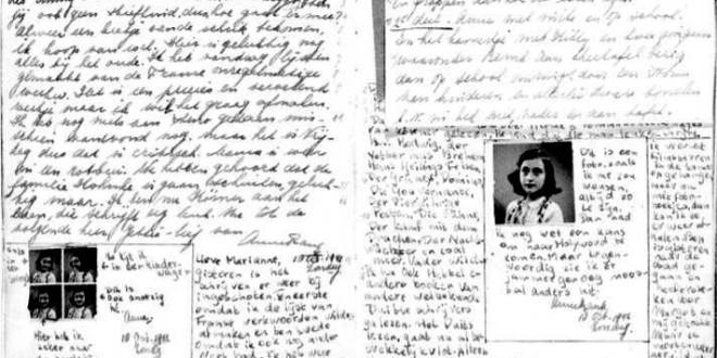 """""""Il diario"""" di Anna Frank, a 70 anni dalla sua morte atroce: per non dimenticare"""