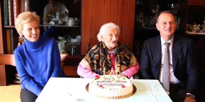 109 anni, che festa a Sorrento per nonna Maria Antonina!