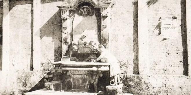 """La fontana dello Schizzariello, il restauro e la storia: il motivo dello """"spostamento"""", tra leggenda e… verità"""