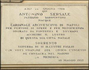 PERSONAGGI DEGNI DI MEMORIA | Antonino Sersale, il cardinale ordinato da Papa Benedetto XIV