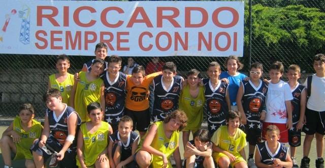 Bambini insieme nello sport in ricordo di Riccardo Coppola