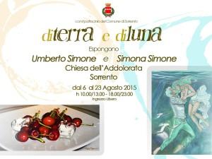 Mostra d'arte a Sorrento - Umberto e Simona Simone