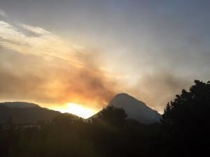 Incendio Tordigliano - Vicalvano 2015