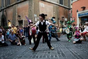 Festival degli artisti di strada