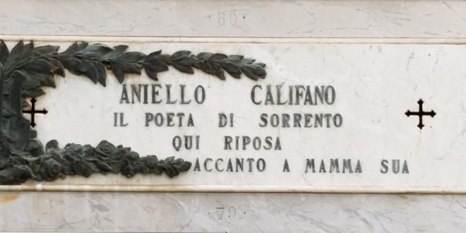 La pro loco di Sant'Egidio a Sorrento per onorare il poeta Aniello Califano
