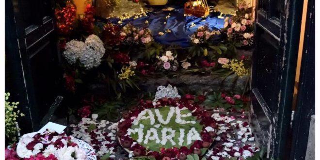 2 giugno 2016, data storica per Meta: in processione la statua della Madonna del Lauro (foto)