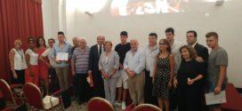 Valorizzazione della Dieta Mediterranea: ieri la cerimonia di consegna degli attestati