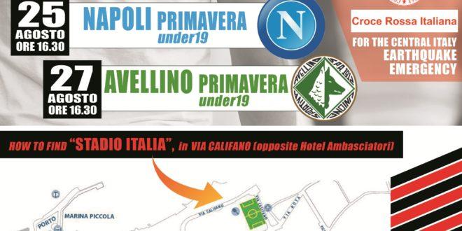 FC Sorrento: amichevoli con Napoli ed Avellino con ingresso libero per raccogliere fondi