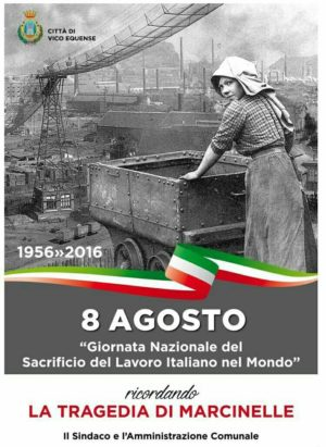 Disastro Marcinelle 60° anniversario