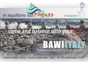 BAWI - Stone balancing 2016