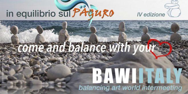 In equilibrio sul paguro: stone balancing a Marina della Lobra